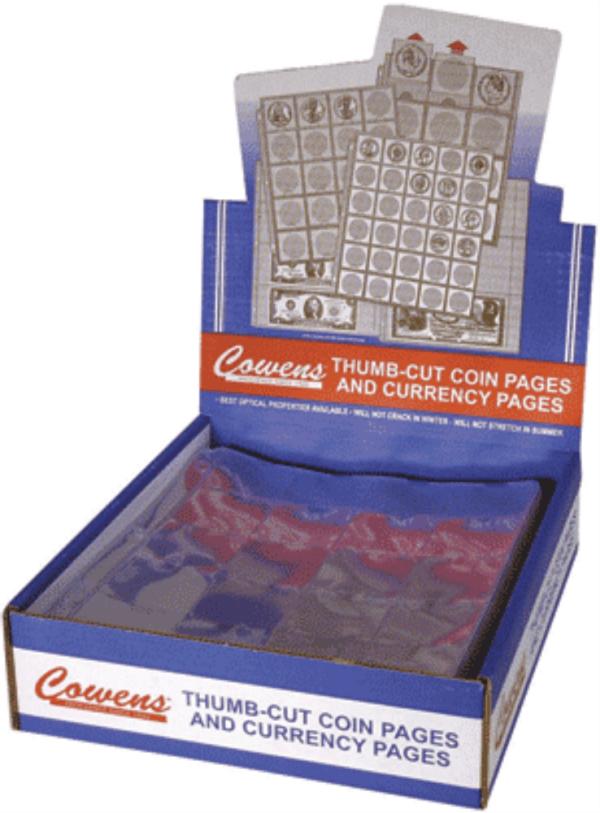 12 Pocket Crown Mylar Sheet