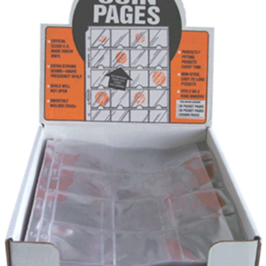 12 Pocket Pages - 2.5 x 2.5 Pocket