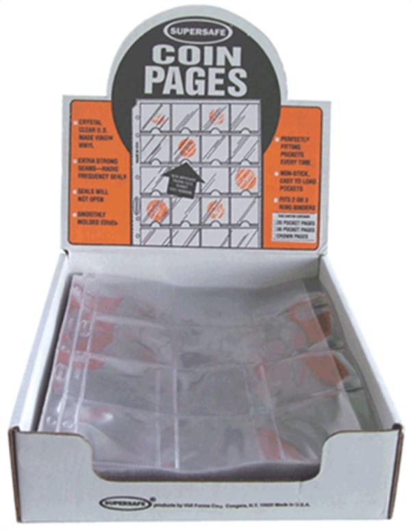 12 Pocket Pages - 2.5 x 2.5 Pocket