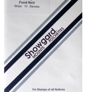 260x40 Showgard Blocks, Strips and Souvenir Sheets (Black)