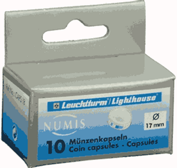 17mm - Coin Capsules (pack of 10)