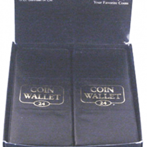 1942 24 Pocket Coin Wallet