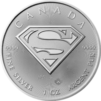 1oz Canadian Silver Superman