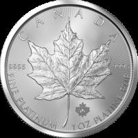 1oz Canadian Platinum Maple Leaf