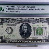 $20 FRN San Francisco FR#2053-Llgs