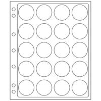 20 slots ENCAP Clear Coin Capsules Pages 38/39 (Fits Guardhouse L
