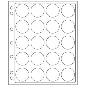 20 slots ENCAP Clear Coin Capsules Pages 38/39 (Fits Guardhouse L, Ligththo