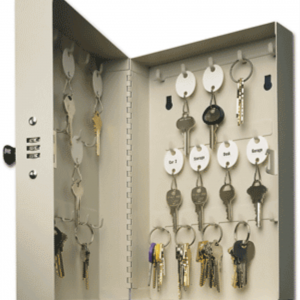 28 Key Hook—Style Cabinet