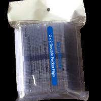 2x2 Coin Flip - Unplasticized 100 Pack
