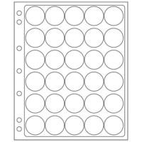 30 slots ENCAP Clear Coin Capsules Pages 30/31 (Fits Guardhouse M