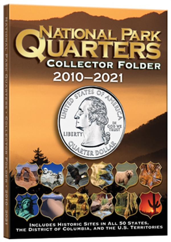 4 Color National Park Quarters Folder 5 3/4 x 7 3/4—1MM