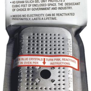 40 Gram Silica Gel Unit — Dessicant