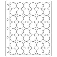 48 slots ENCAP Clear Coin Capsules Pages 24/25mm (Fits Guardhouse S