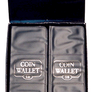18 Pocket Coin Wallet by H.E. Harris 1941