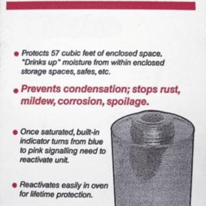 750 Gram Silica Gel Unit —— Dessicant