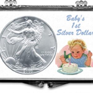 ASE Babys First Silver Dollar