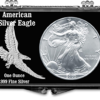 ASE Embossed Eagle