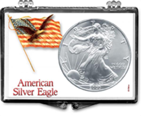 ASE Flag on Pole with Eagle