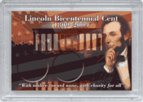 Abe Lincoln Bicentential Frosty Case – 2 Hole