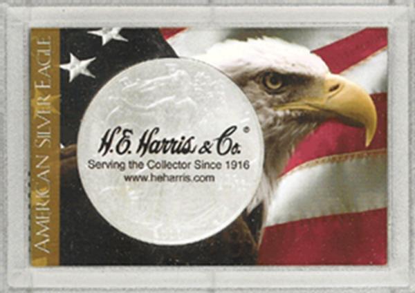 American Silver Eagle Frosty Case