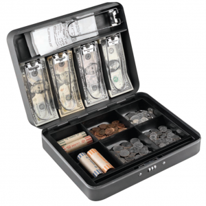 Anti—Theft Security Combination Lock Cash Box