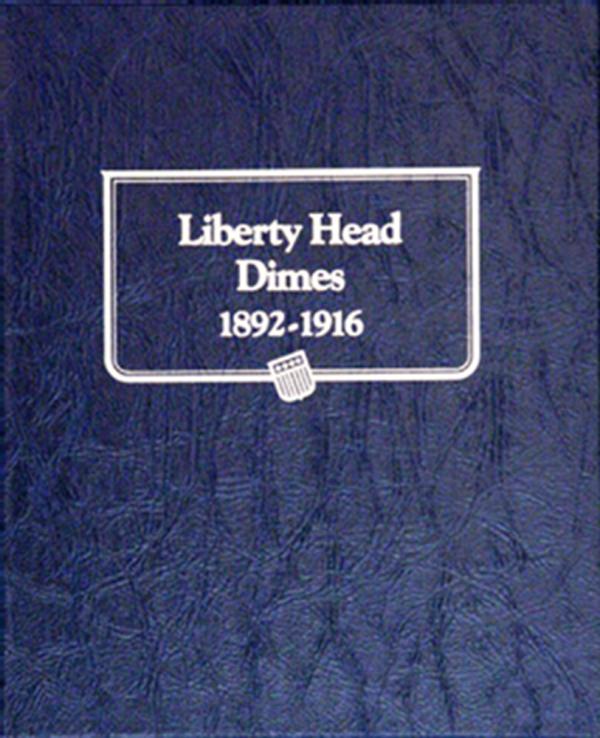 Barber Dime Album 1892—1916