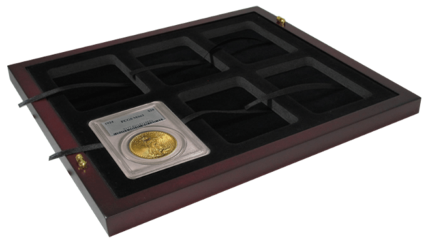 Certified Coin Slab Tray – Holds 6 Slabs