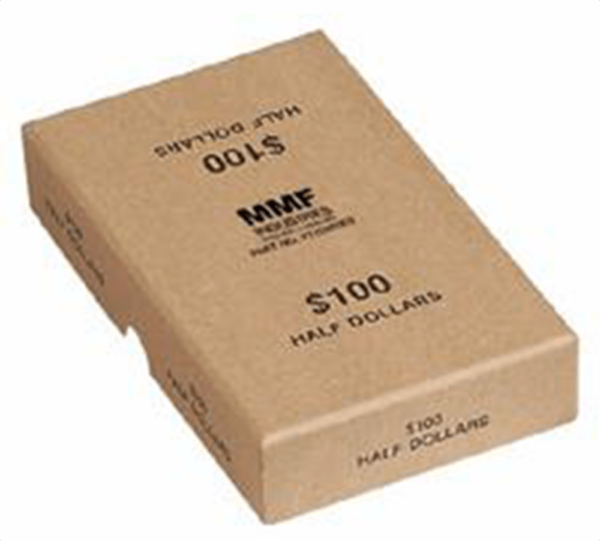 Coin Roll Boxes - Half Dollar