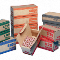 Coin Roll Shipper Box - Cent Bulk