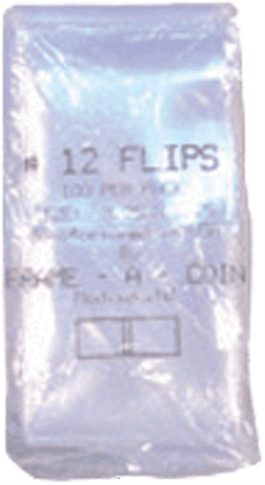 Crown 3 1/4×3 1/4 UN Coin Flips UN – 100 per pack