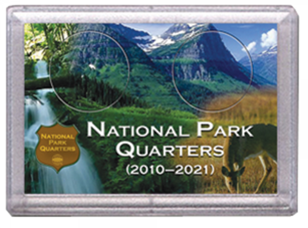 National Parks Deer and Meadow Design Frosty Case – 2 Hole