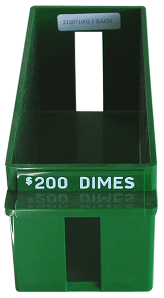 Dime Rolled Large Capacity Coin Trays