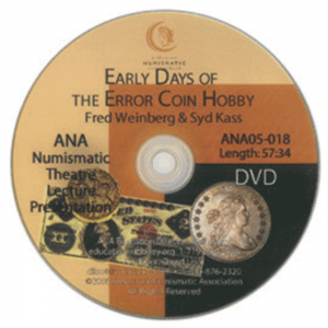 Early Days of Error Coin Hobby