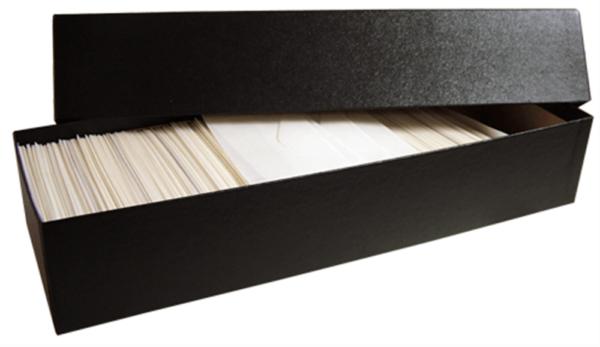 Glassine Storage #3 Box – Holds 2-14×4 5/8×2 3/4