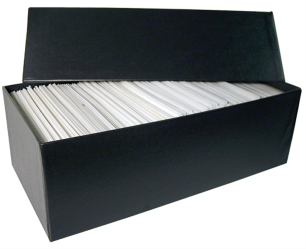 Glassine Storage #7 Box – Holds 4 1/2 x 6 5/8 Glassines