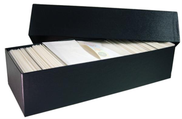 Glassine Storage #4 Box – Holds 14×5.25×3.50 glassine