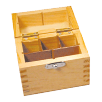 Gold Test Acid Box - Capacity for 3 bottles