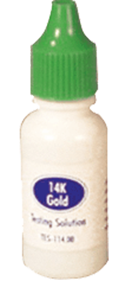 Gold Test Acids — 14k
