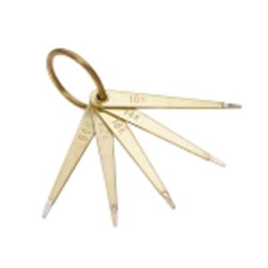 Gold Test Needles Set of 5