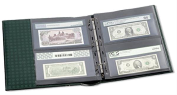 Grande Graded Currency Album 10 Grande 2 pocket pages
