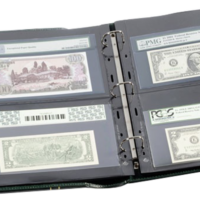 Grande Graded Currency Album 10 Grande 2 pocket pages