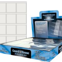 Guardhouse Shield 12 Pocket (100 pack) Archival Polypropylene Pages