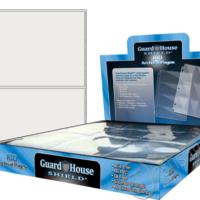Guardhouse Shield 2 Pocket (100 pack) Archival Polypropylene Pages
