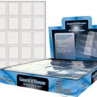 Guardhouse Shield 20 Pocket (100 pack) Archival Polypropylene Pages