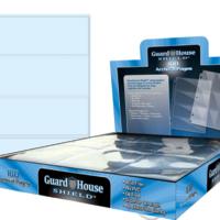 Guardhouse Shield 4 Pocket (100 pack) Archival Polypropylene Pages