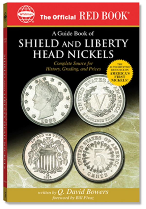 Guide Book of Shield & Liberty Head Nickels — Red Book