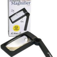 Illuminated Folding Magnifier 2x