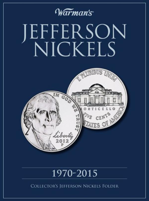 Jefferson Nickels 1970—2015