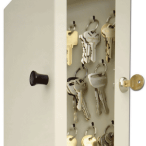 14 Key Hook—Style Key Cabinet