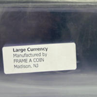 Large Currency Holder 100 p/pack
